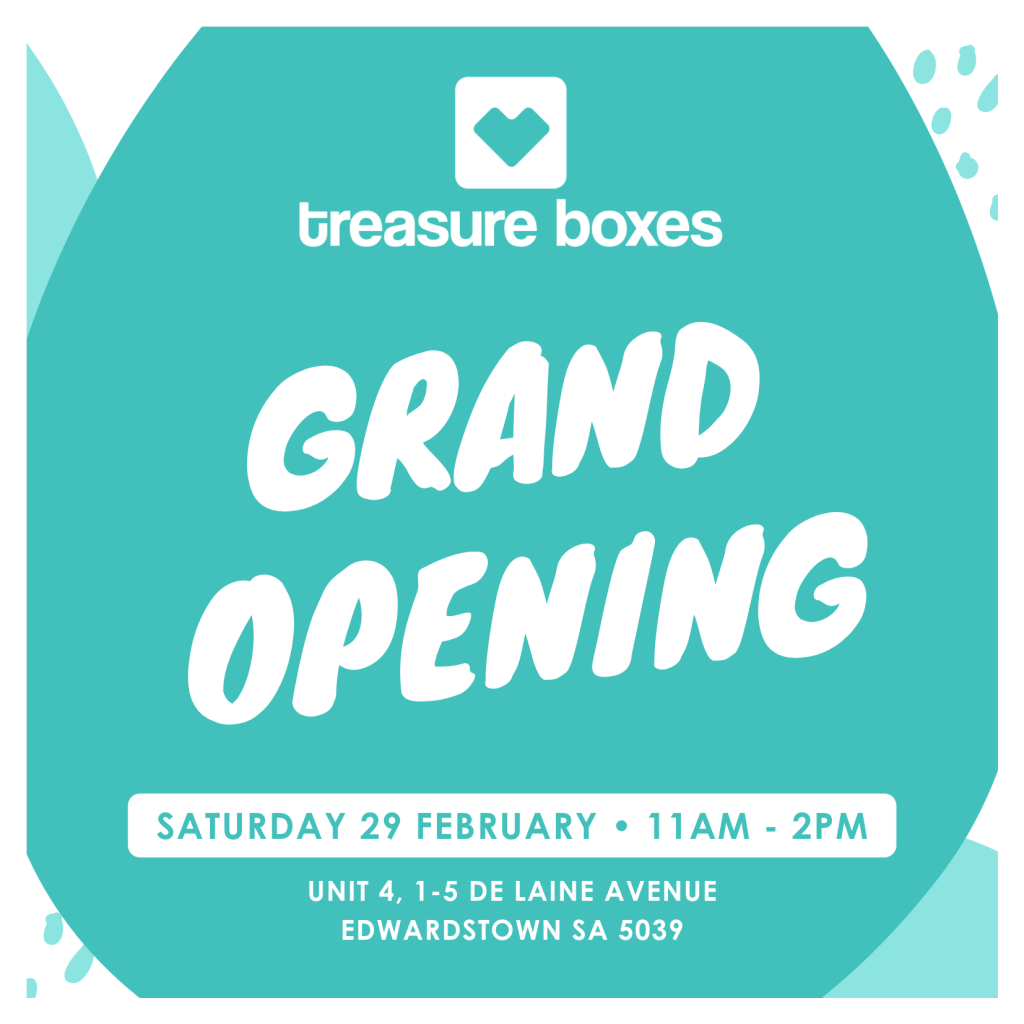 Treasure Boxes grand opening date & time